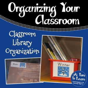 Classroom Library Organization for Pre-Readers: perfect system for pre-k and kindergarten