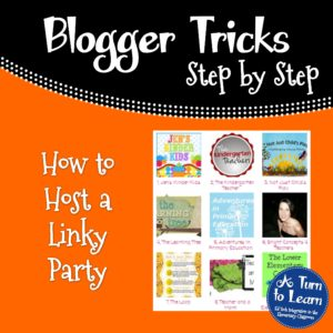 How to Host a Linky Party