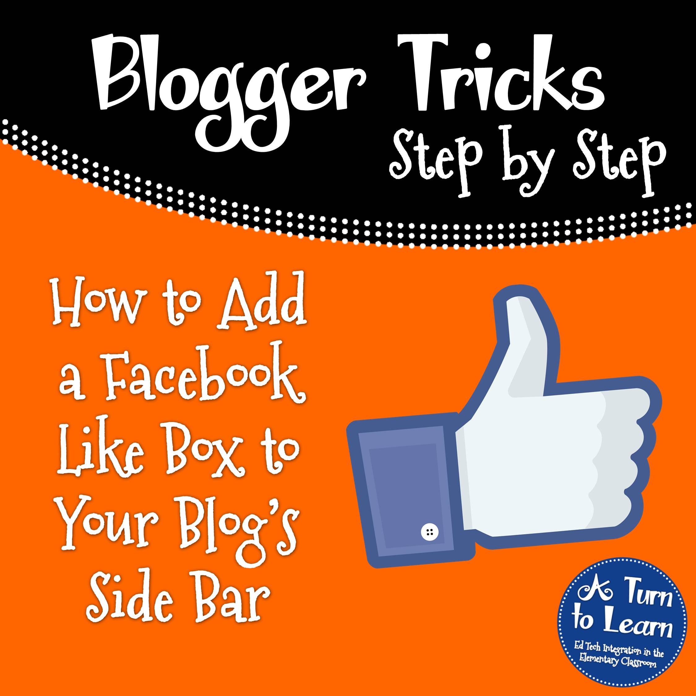 How to Add a Facebook Like Box to Your Blog's Side Bar