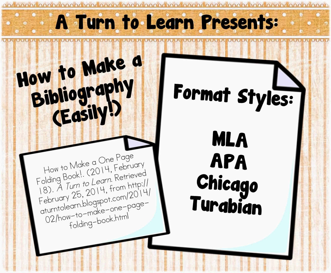 How To Make A Bibliography (easily!) A Turn To Learn How To Cite