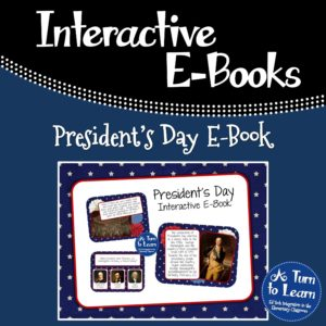 President's Day Interactive E-Book for Smartboard. Comprehension questions check for understanding throughout!