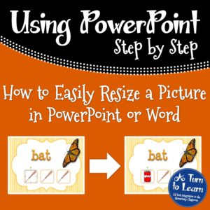 How to Easily Resize a Picture in PowerPoint or Word... awesome trick for PowerPoint