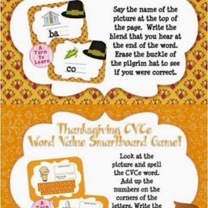 Thanksgiving Themed Smartboard/Activinspire Games Giveaway