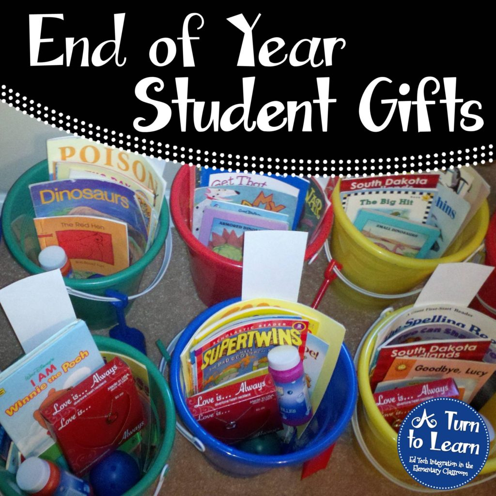 A Fun End Of Year Gift Idea! • A Turn To Learn