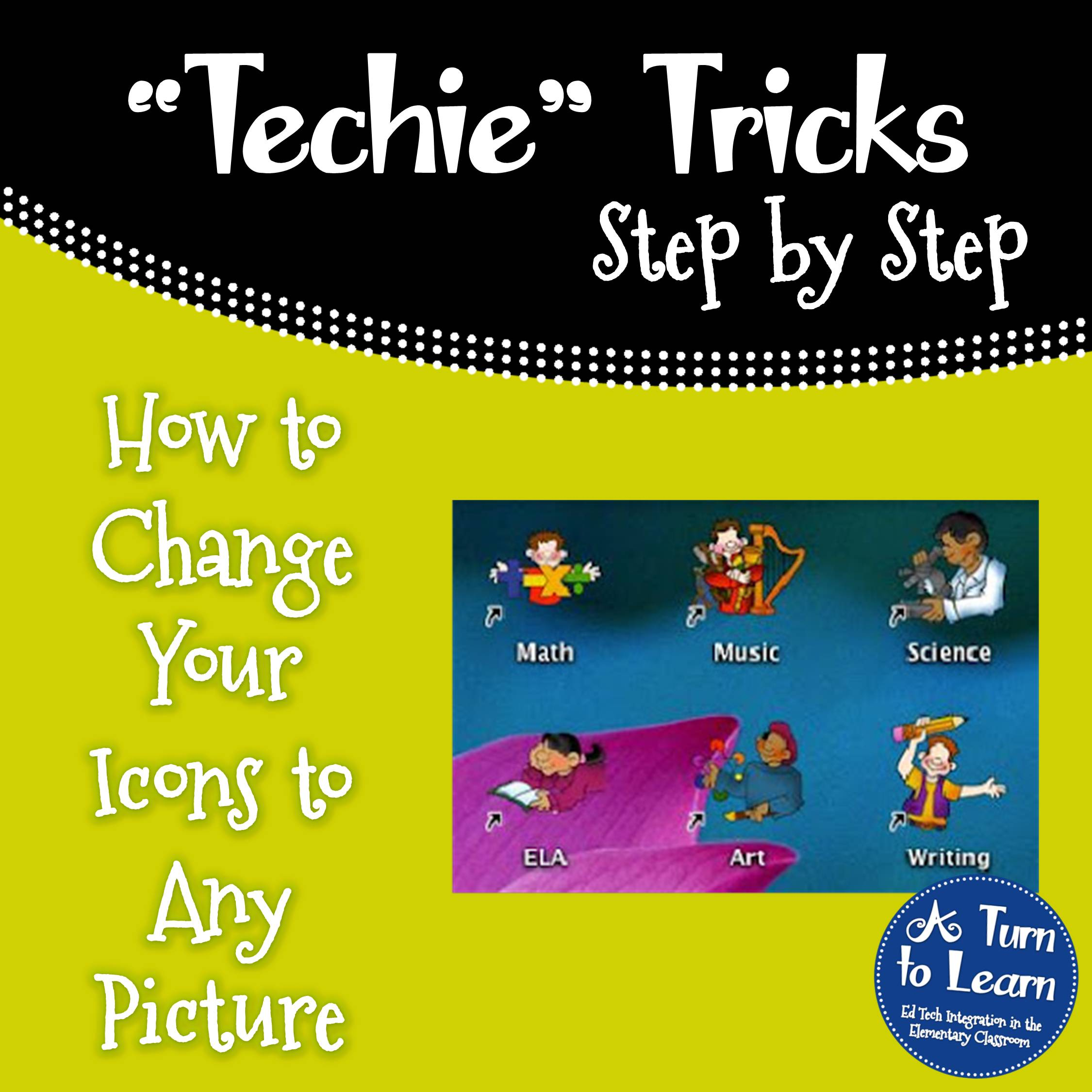 How to make any picture into an icon a turn to learn how to change your icons to any picture buycottarizona