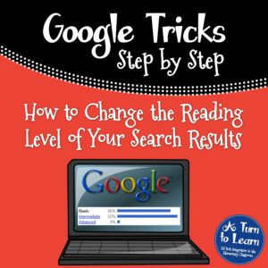How to Change the Reading Level of Your Search Results