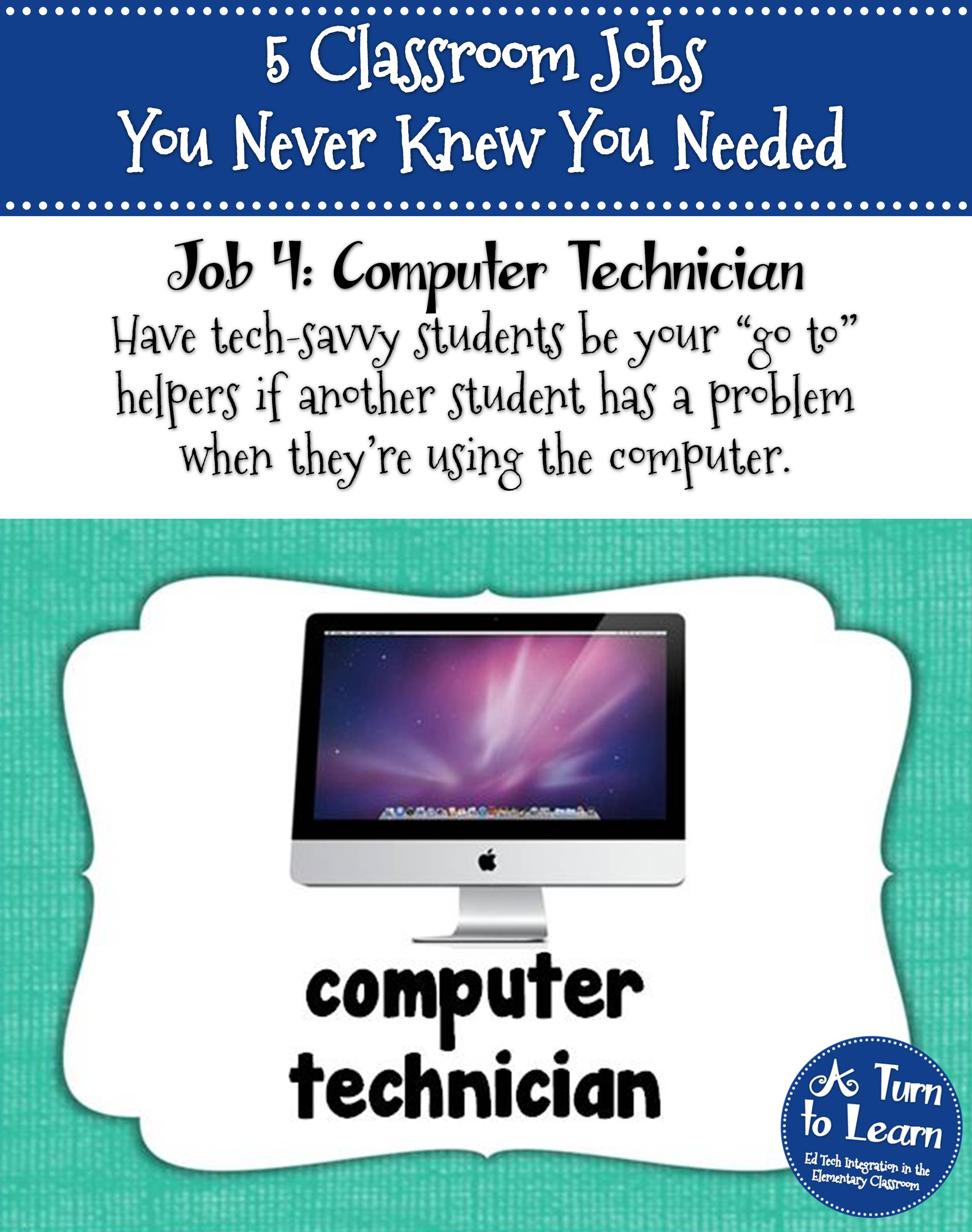 5 classroom jobs you never knew you needed... some awesome ideas for elementary classroom jobs!