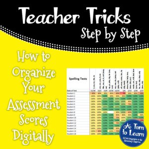 How to Organize Your Assessment Scores Digitally