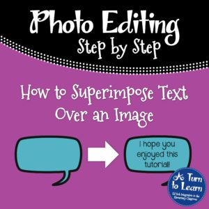 How to Superimpose Text on an Image