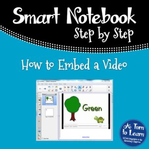 How to Embed a Video in Smart Notebook