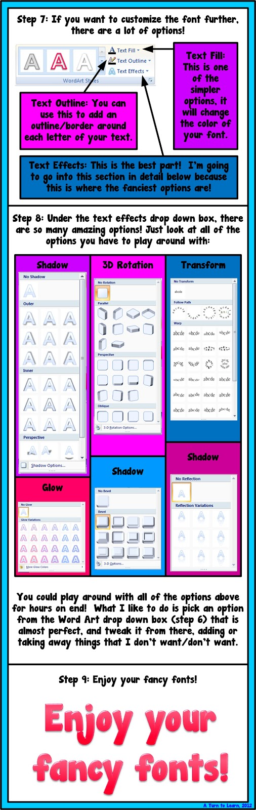 How To Make Your Fonts Look Fancy In Powerpoint  A Turn To Learn