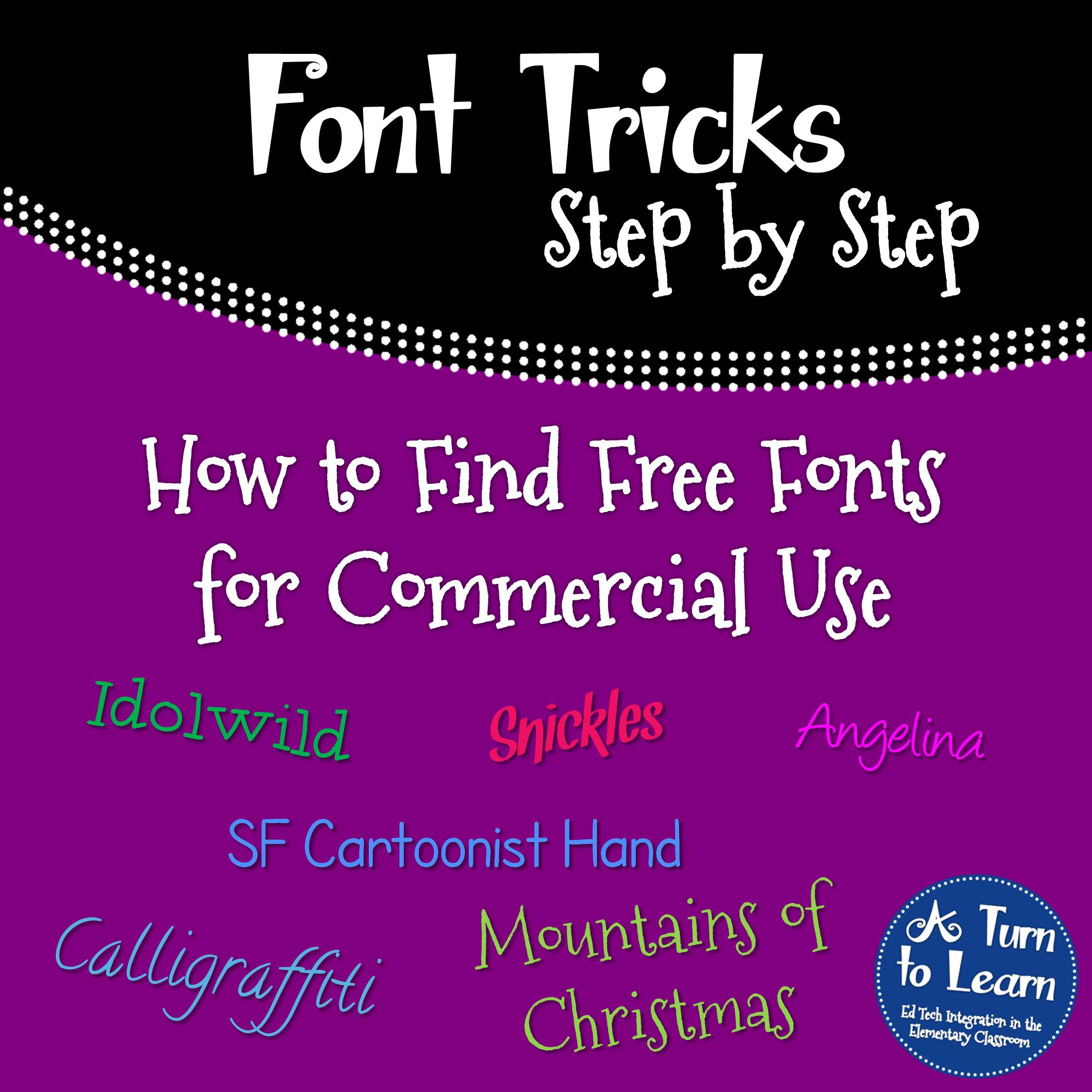How to Find Free Fonts for Commercial Use