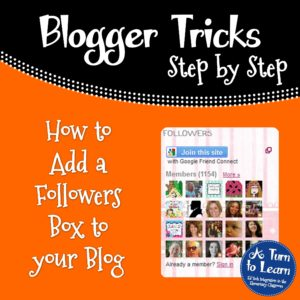 How to Add a Followers Box to Your Blog