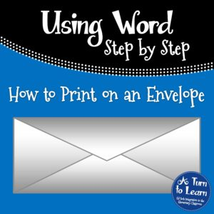 How to Print on an Envelope