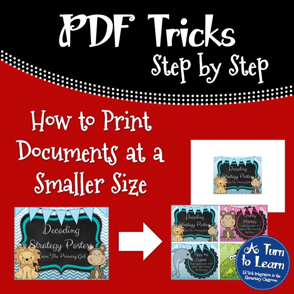 how to make photo size in document smaller