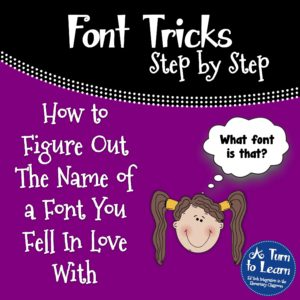 How to Figure Out the Name of a Font You Fell in Love With