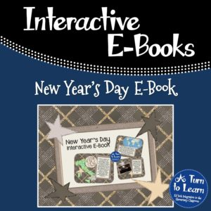 New Year's Day Interactive E-Book: This Smartboard activity has comprehension activities to keep students engaged!