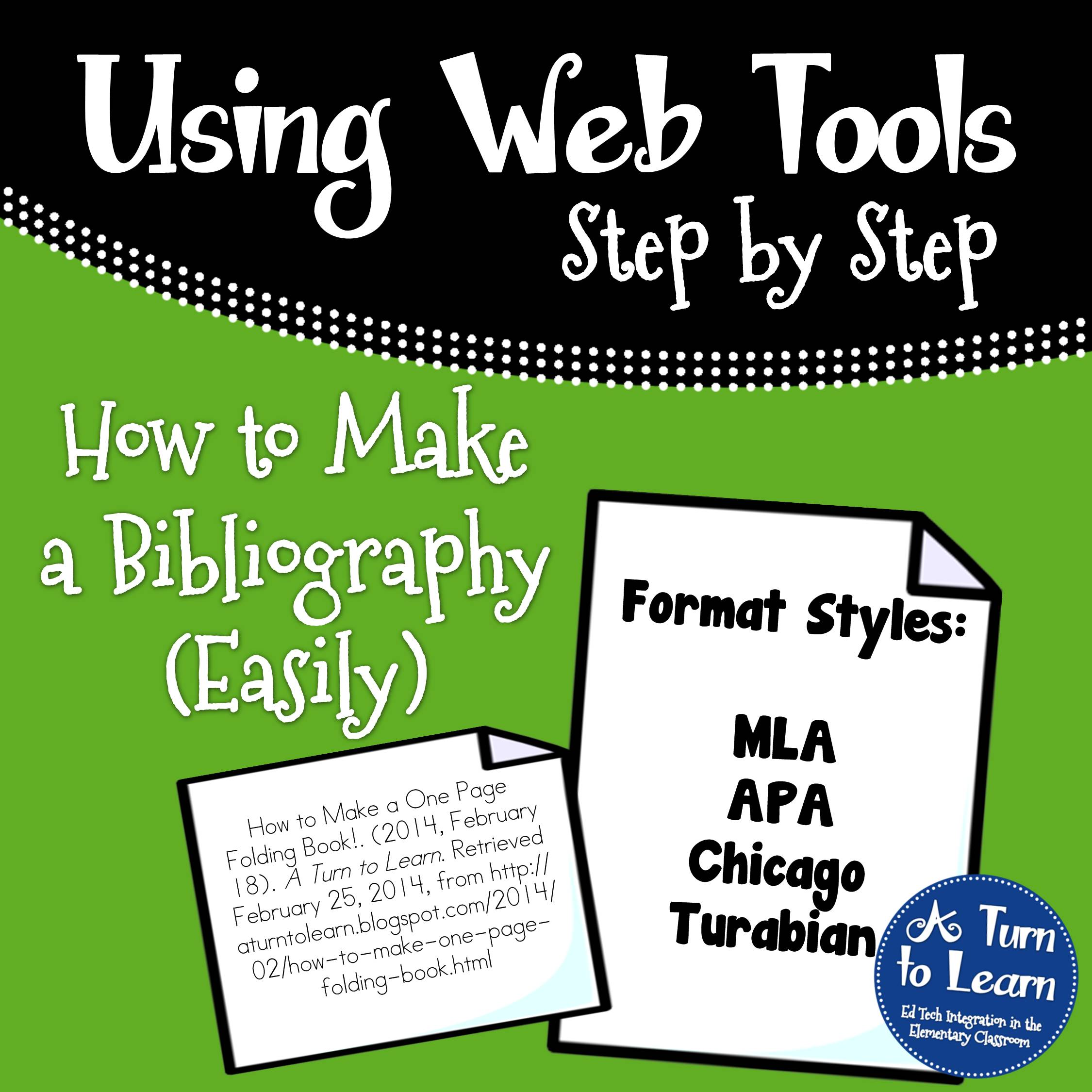 how to write a bibliography in apa format