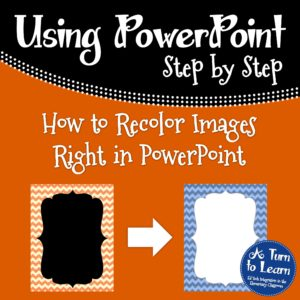 How to Recolor Images Right in PowerPoint... such an awesome trick if you make presentations or documents in PowerPoint!