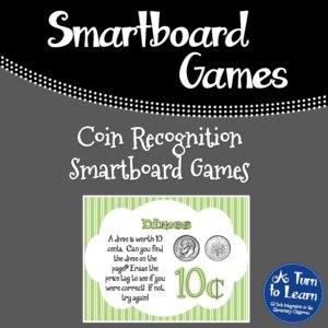Coin Recognition Smartboard Games