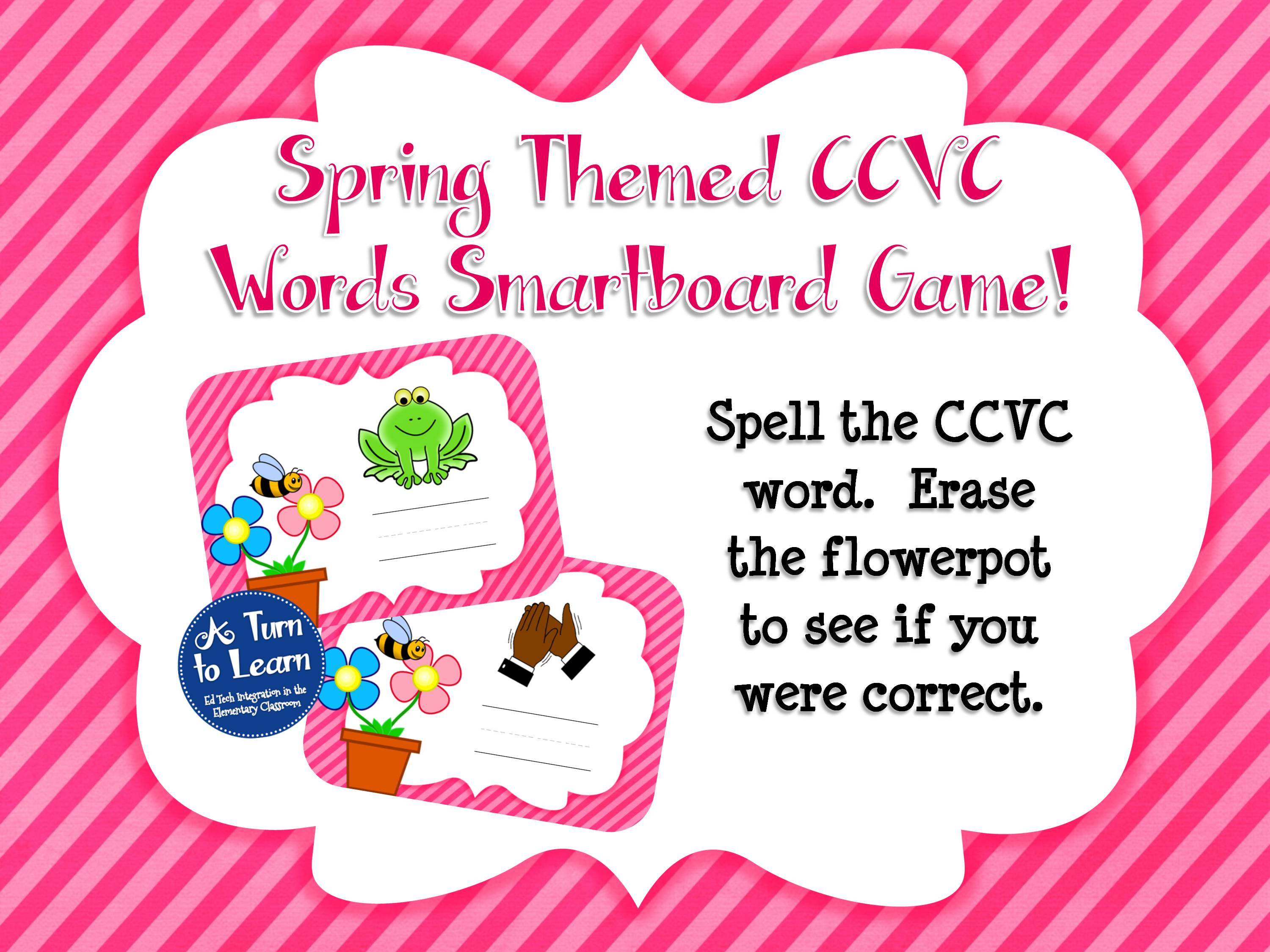 Consonant Blend Board Game: Say and Spell It