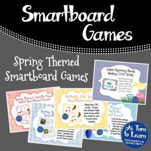 Spring Smartboard Games