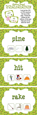 This Christmas themed game will have your students alternating between reading words with short vowel sounds and long vowel sounds - fine tuning their ability to read CVC and CVCe words. This 135 page self-checking game will have students reading words and finding the corresponding pictures... if students touch the correct picture, they hear a fun sound!